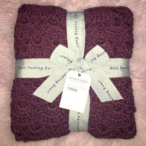 BERKSHIRE Handmade Crochet Fan Throw